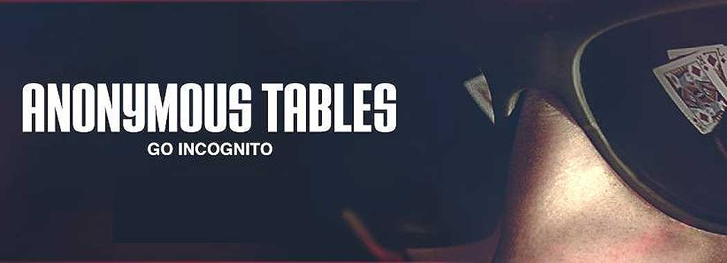 Play at Ignition Poker's Anonymous Tables