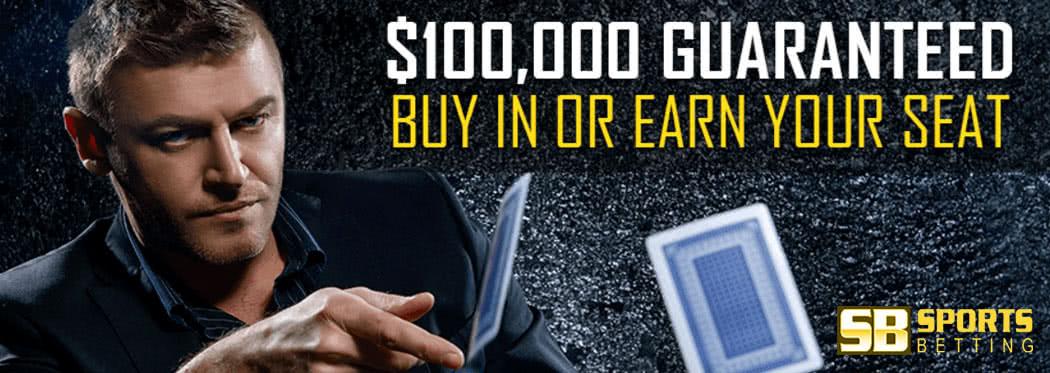 $100,000 Guaranteed poker tournaments