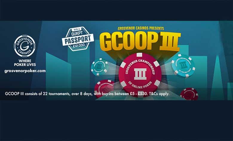 Grosvenor Championships of Online Poker (GCOOP) III