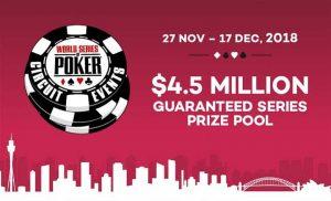 WSOP Sydney 2018