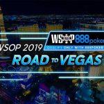 888 Poker Road to Vegas WSOP 2019