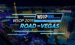 888 Poker Road to Vegas WSOP 2019